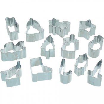 13 Minis Emporte-pièces Noël (3,5 cm)