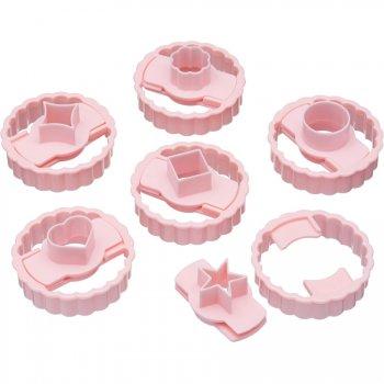 Set de 6 Emporte-pièces Biscuit Linzer