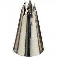 Douille Glaçage Etoile ouverte Médium (9 mm) - INox