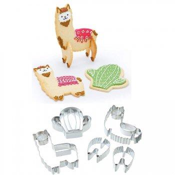 Set Emporte-pièces Lama 3D