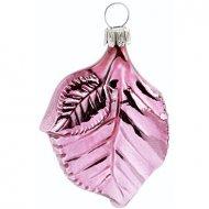 Boule Feuille de Rose (6 cm) - Verre