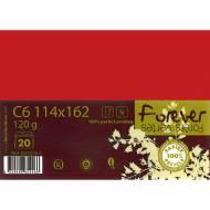Paquet de 20 Enveloppes Forever - Rouge