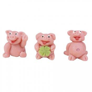 Les 3 petits cochons en Pâte d Amande