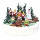 Kit de décoration Gâteau Blanche-neige