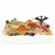 Kit de décoration Gâteau Dinosaures