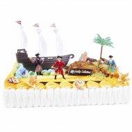 Kit de décoration Gâteau Pirates