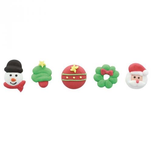5 Décorations Noel en Sucre