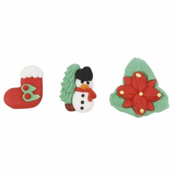 8 Décorations Noel en Sucre