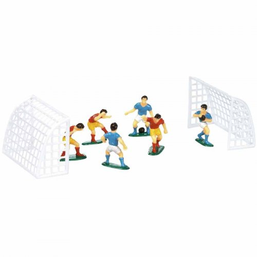 Figurines Footballeurs avec Buts