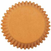 25 Caissettes � Cupcakes Orange