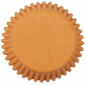 25 Caissettes à Cupcakes Orange