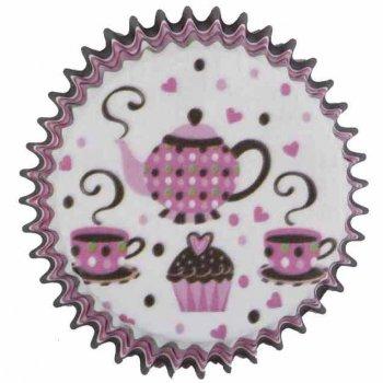 25 Caissettes à Cupcakes Thé