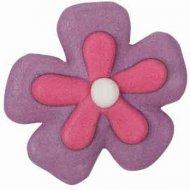 5 Fleurs en Sucre Bicolores