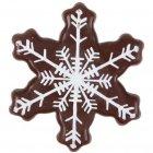 5 Flocons de neige en chocolat