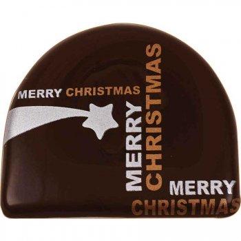 2 Embouts de bûche Merry Xmas