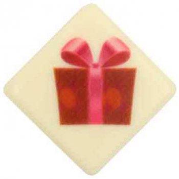 10 Plaquettes Cadeaux Chocolat Blanc