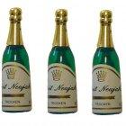 4 Bouteilles de Champagne en plastique