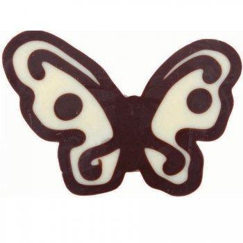 3 Papillons Chocolat