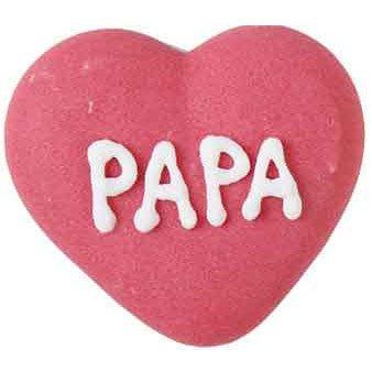6 Décors en sucre Fête des pères