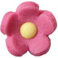 12 Fleurs 3D en pâte d'amande