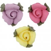 15 Mini-roses avec feuilles