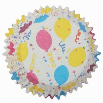 25 Caissettes à Cupcakes Ballons
