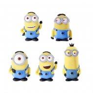 5 Figurines en sucre Minions 3D
