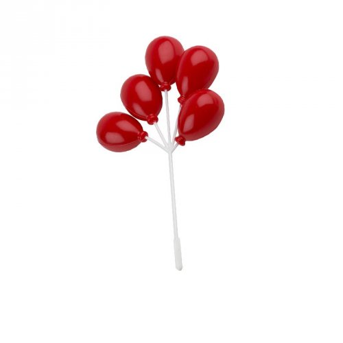 Grappe de Ballons rouges
