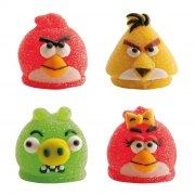 4 Figurines Angry Birds en g�lifi�