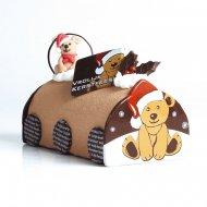 2 Embouts de bûche oursons en chocolat
