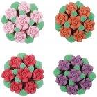 2 Bouquets de Fleurs en sucre