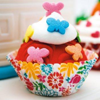 Confettis Papillons Rainbow en sucre - 50 g