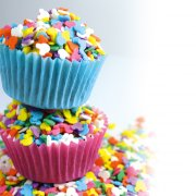 Confettis Mickey Rainbow en sucre - 50 g