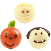4 Boules Halloween en Chocolat