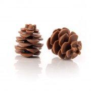 1 Pomme de Pin (4 cm) - Chocolat lait