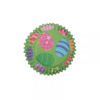 25 Caissettes à Cupcakes Pâques Verdure