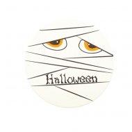 Disque Momie Halloween (12 cm) - Chocolat blanc