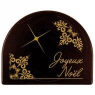 2 Embouts de Bûche Joyeux Noël - Chocolat noir