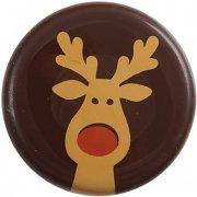 3 Pastilles Rennes (3,8 cm) - Chocolat