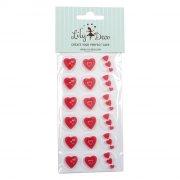 Moule 18 Chocolats Déco Coeur