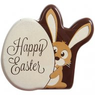 3 Plaquettes Lapin Happy Easter