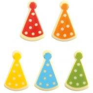 5 Chapeaux Clown - Chocolat