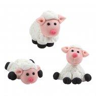 3 Moutons en Sucre (3 cm)