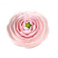 1 Grande Fleur Renoncule Rose pâle (5,5 cm) - Non Comestible
