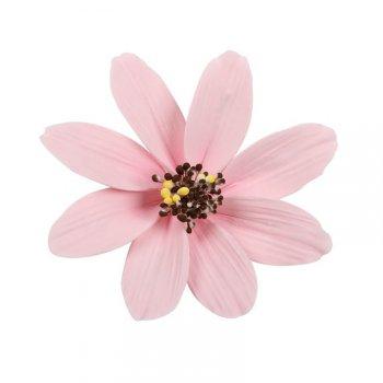 1 Grande Fleur Marguerite Rose (12 cm) - Non comestible