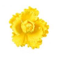 1 Fleur Oeillet Jaune (5 cm) - Non comestible