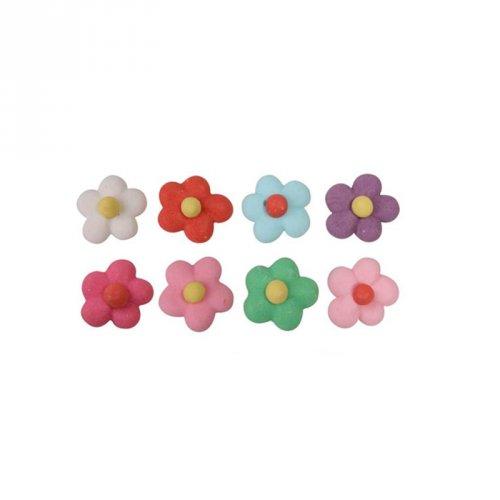 10 Petites Fleurs Orphelias (1 cm) - Sucre
