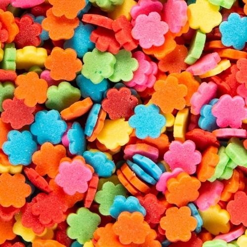 Confettis Fleurs  (50 g) - Sucre