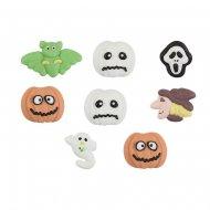 8 Mini Déco Halloween 2D - Sucre