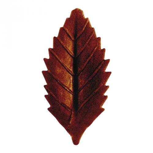 10 Feuilles d Automne Marron (4 cm) - Azyme